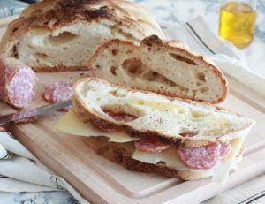 Boule de pain sans gluten avec mix MaxFree - La Cassata Celiaca