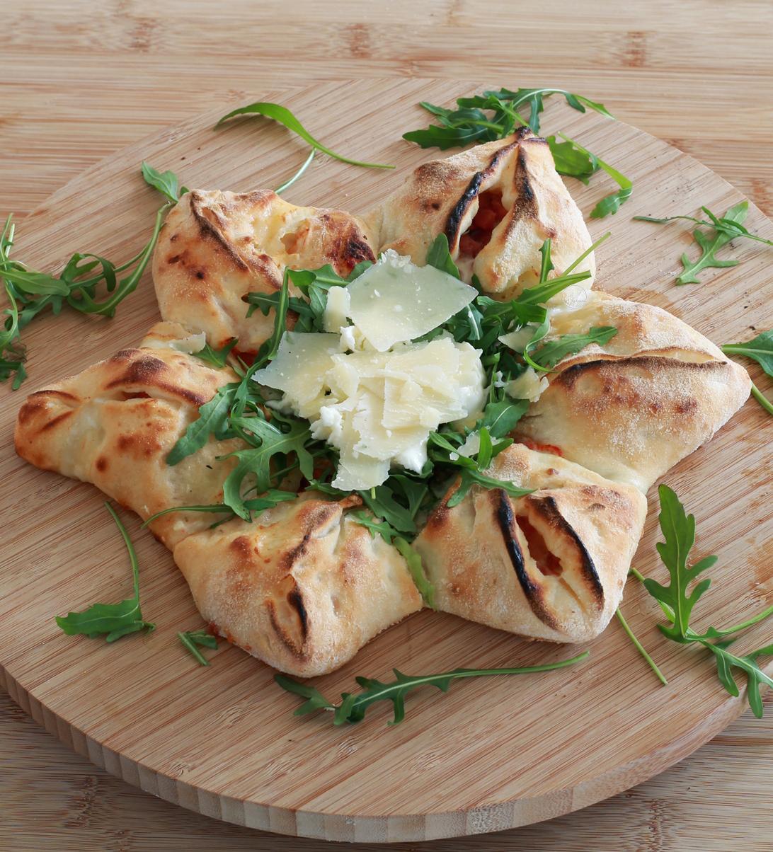 Pizza étoile sans gluten, la vidéo - La Cassata Celiaca