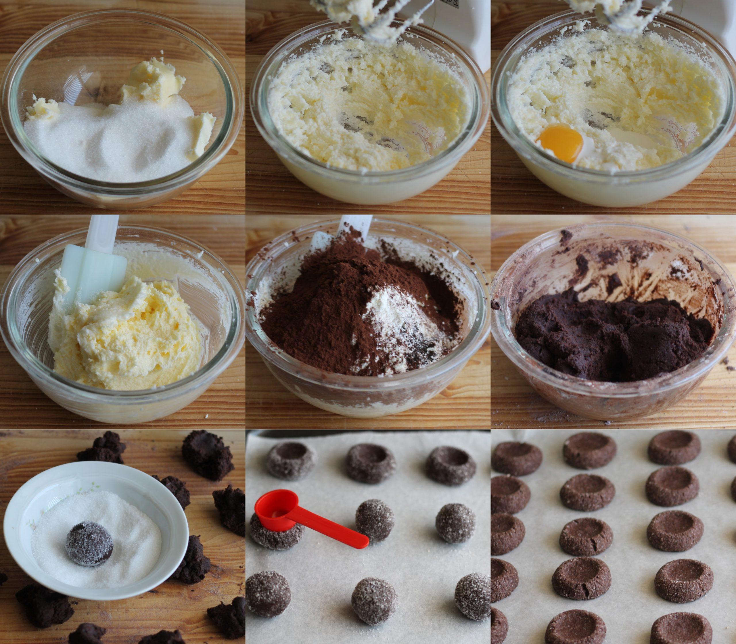 Biscotti farciti al cioccolato senza glutine - La Cassata Celiaca
