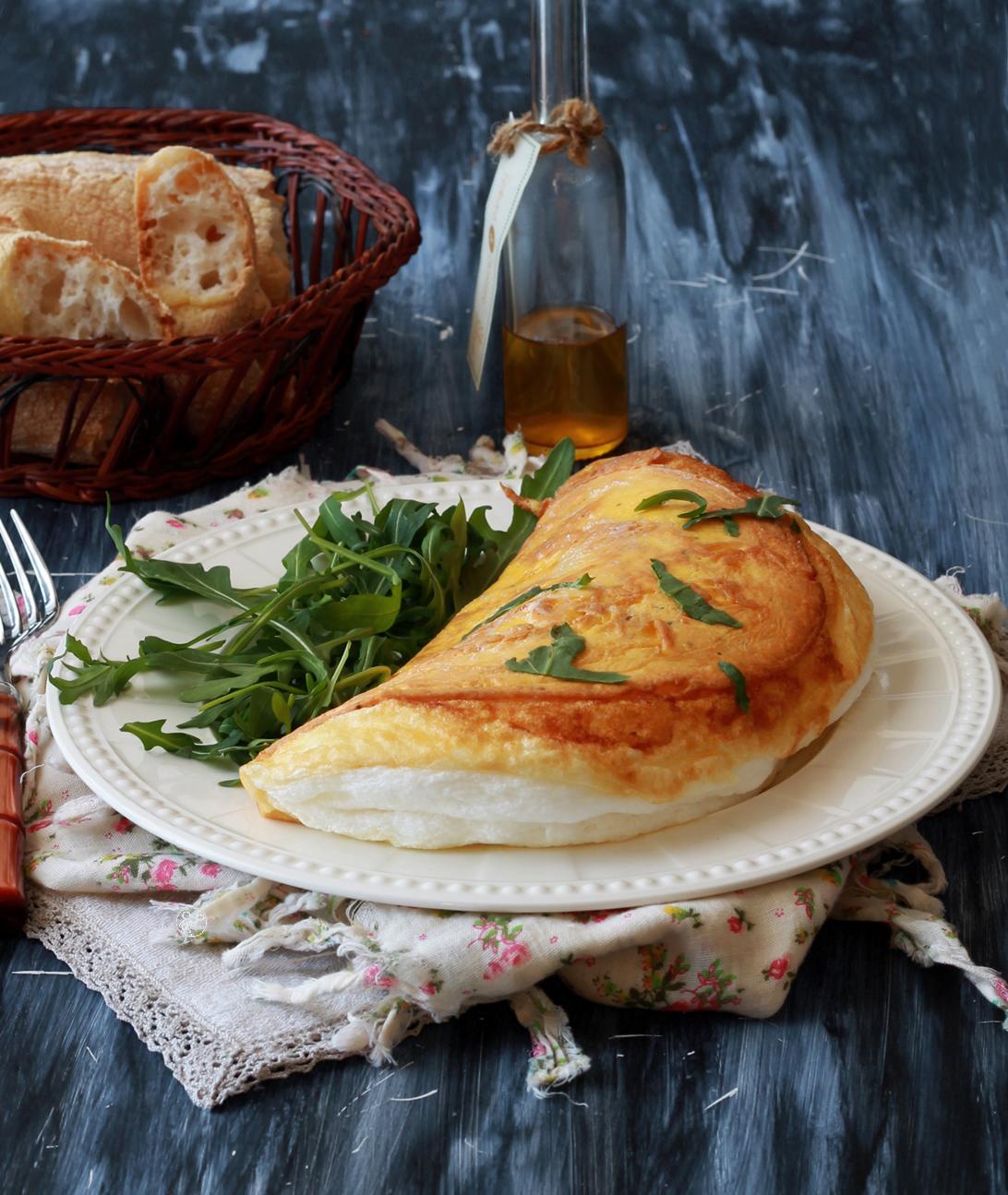 Omelette soufflée de la mère Poulard - La Cassata Celiaca
