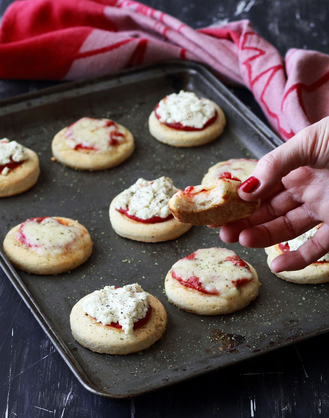 Pizzette alla ricotta senza glutine - La Cassata Celiaca