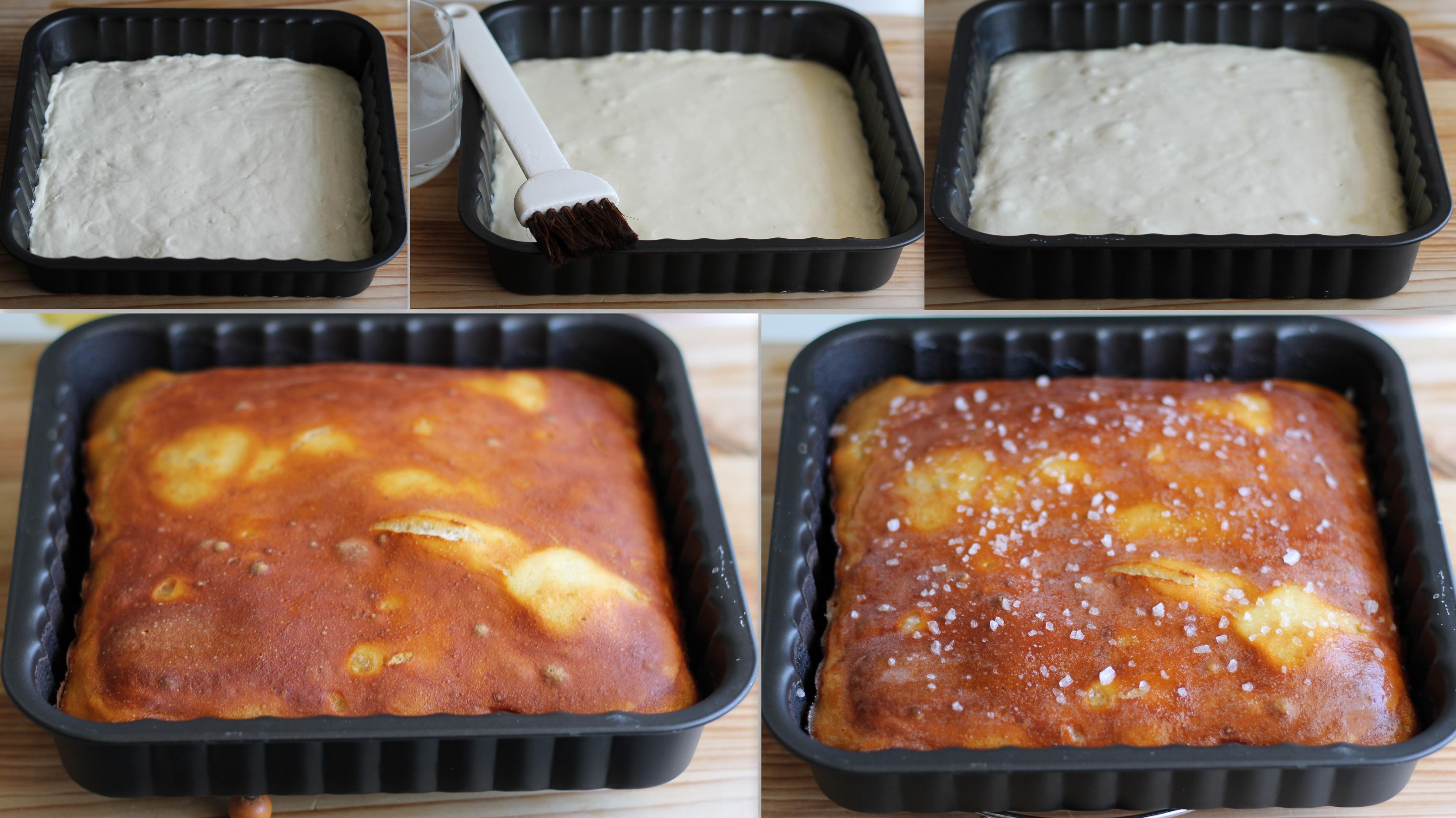 Pretzel focaccia sans gluten - La Cassata Celiaca
