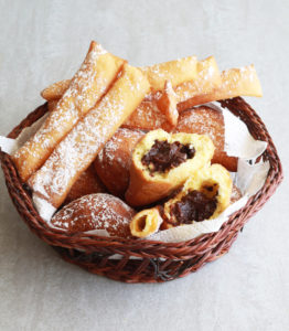 Raviolis sucrés au chocolat sans gluten - La Cassata Celiaca