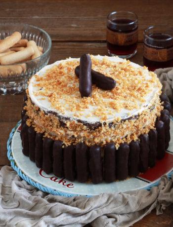 Torta ubriaca senza glutine - La Cassata Celiaca