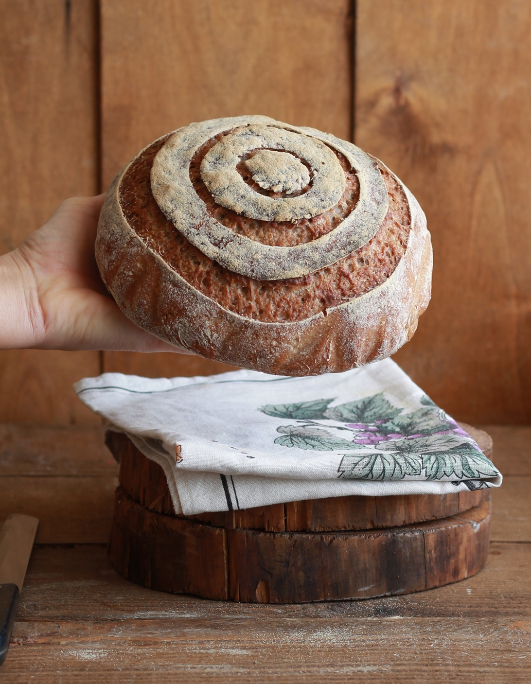 Pane integrale alla birra senza glutine - La Cassata Celiaca