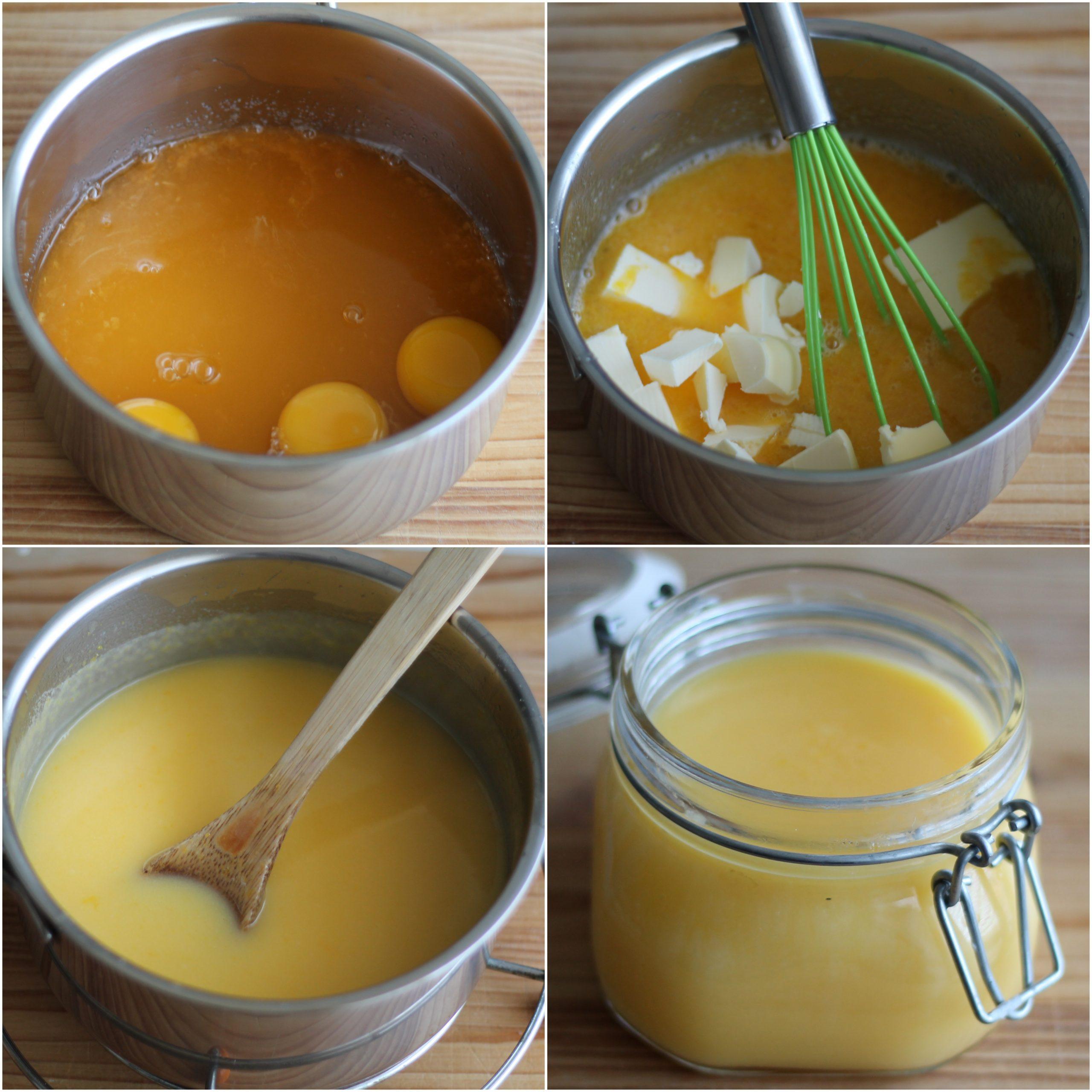 Curd al mandarino senza glutine - La Cassata Celiaca