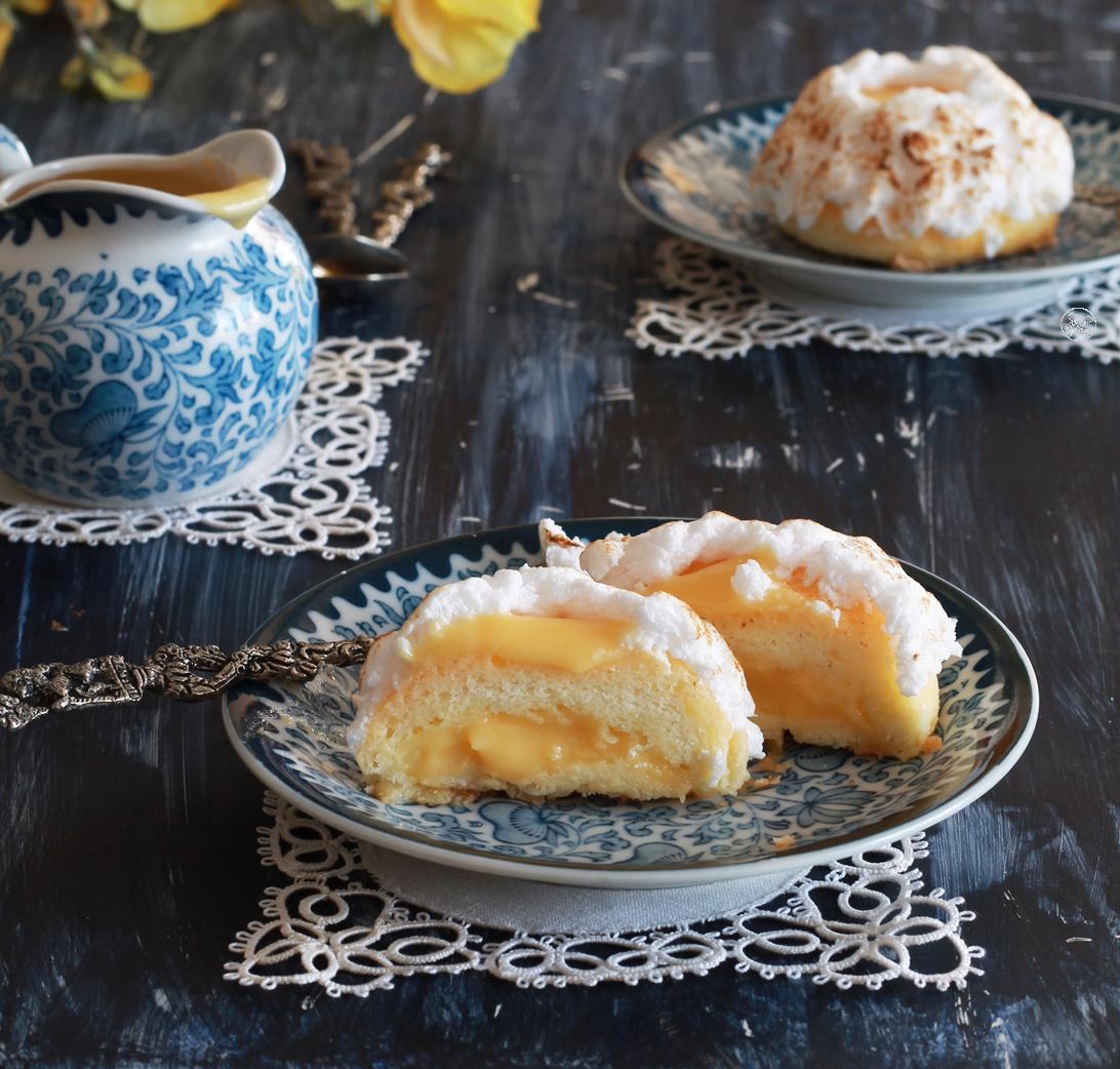 Tortine con curd al mandarino senza glutine - La Cassata Celiaca