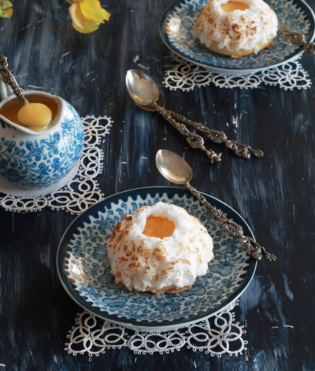 Mini cake sans gluten avec curd à la mandarine - La Cassata Celiaca
