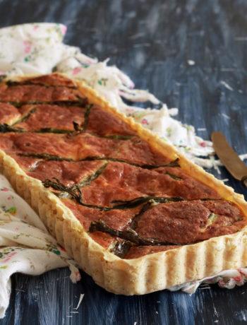 Quiche aux asperges en croûte de pommes de terre - La Cassata Celiaca