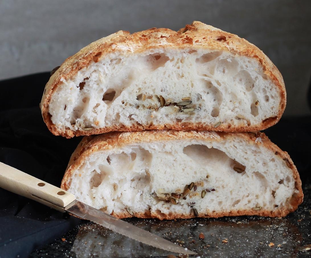Pain aux grains sans gluten en vidéo - La Cassata Celiaca