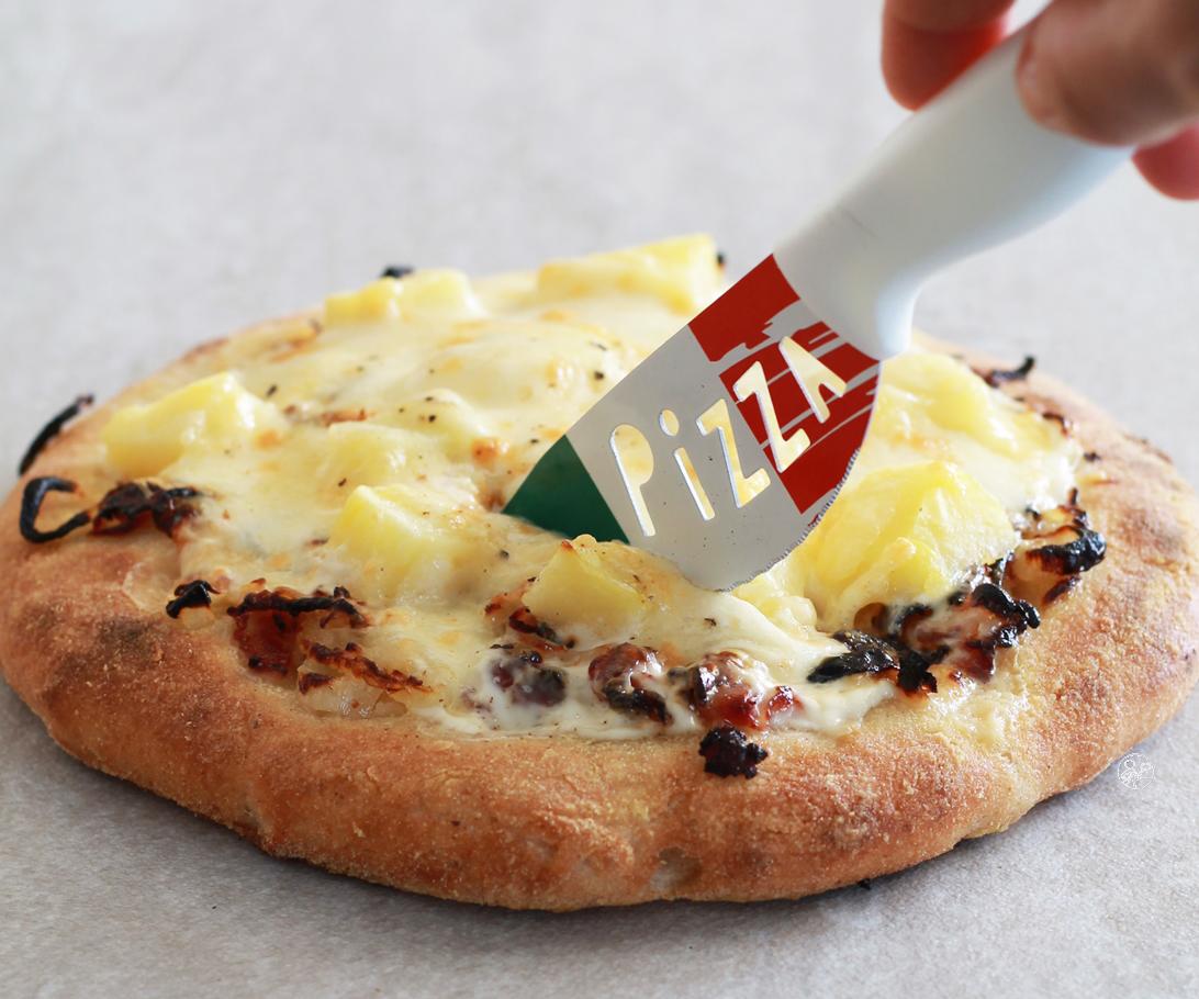 Pizza savoyarde senza glutine con videoricetta - La Cassata Celiaca