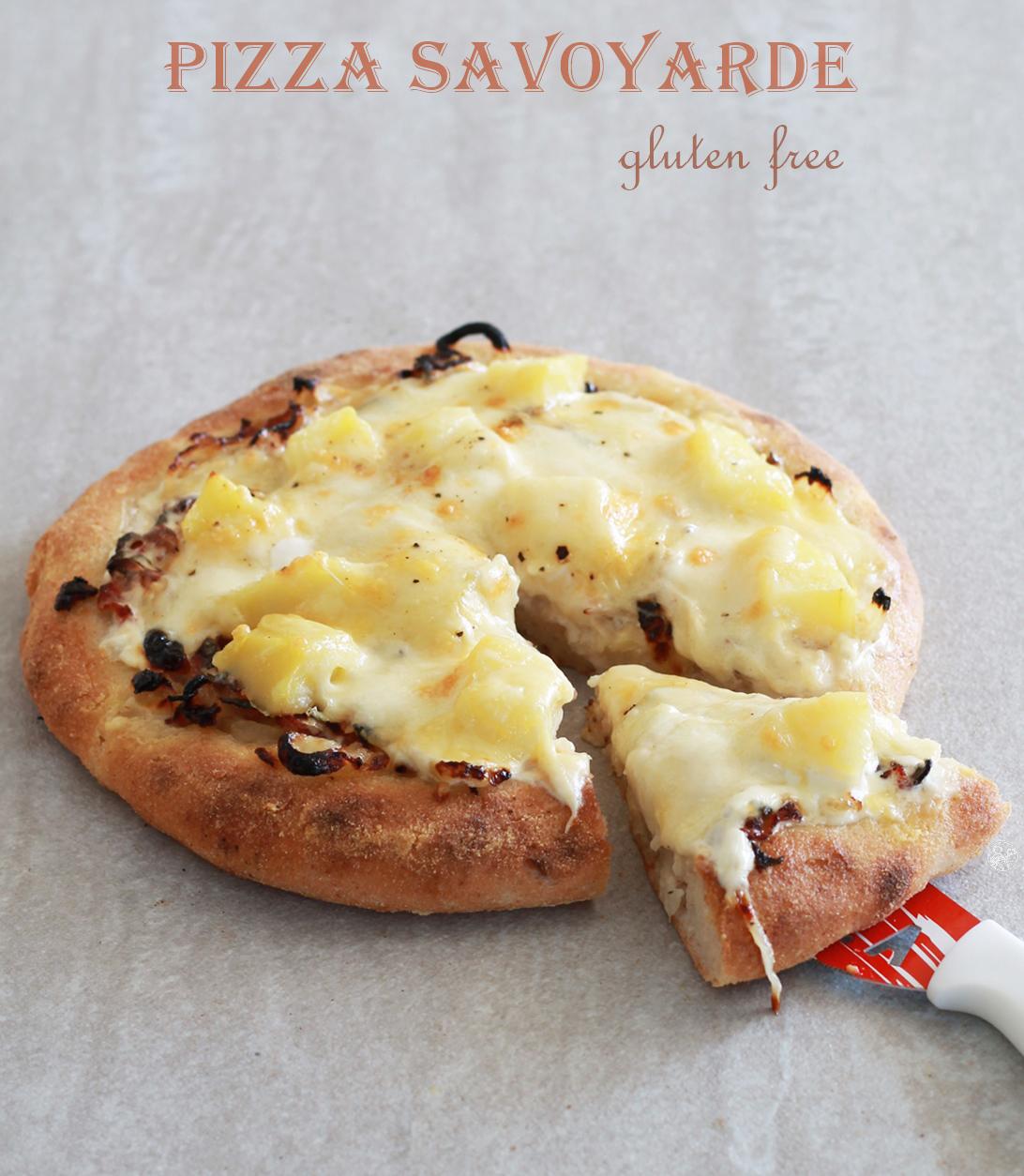 Pizza savoyarde sans gluten en vidéo - La Cassata Celiaca