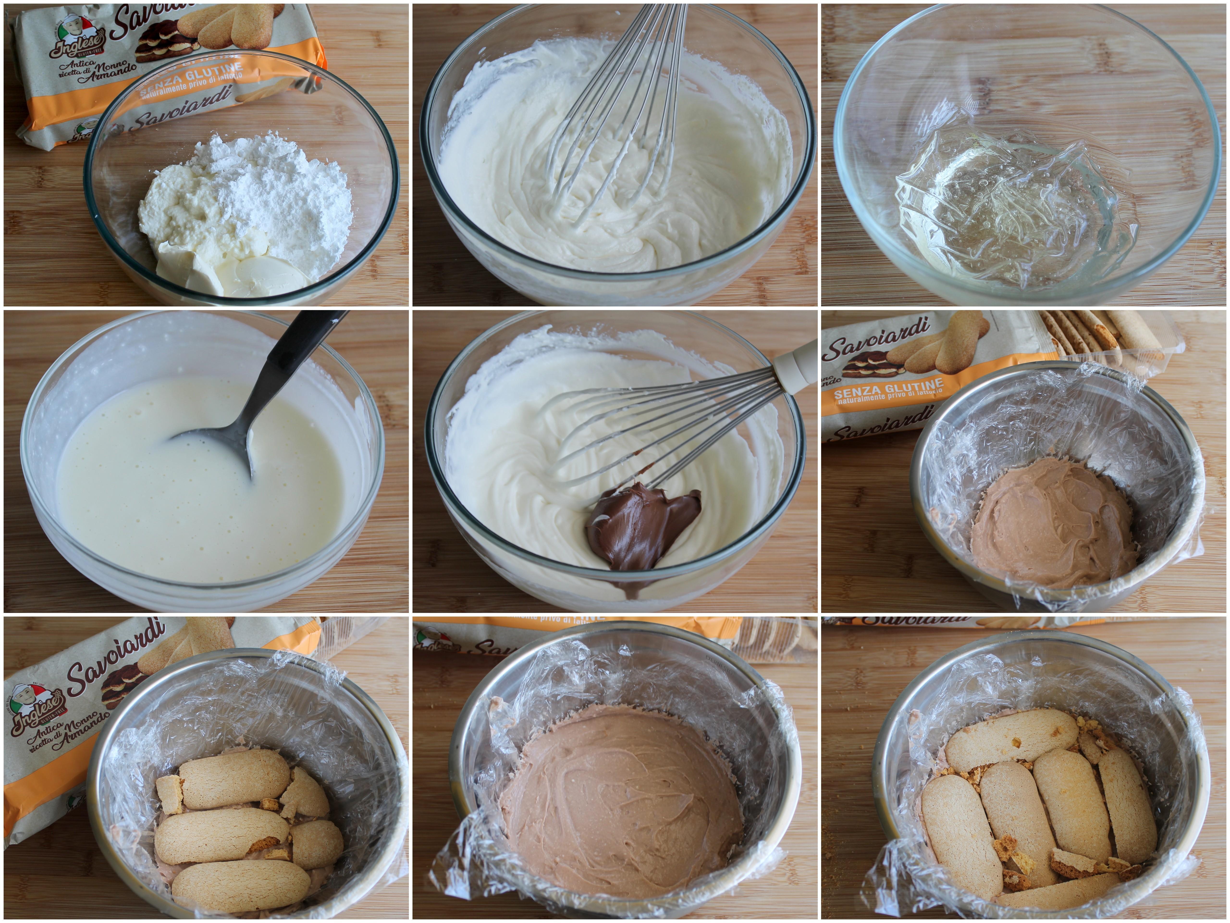 Dôme à la ricotta sans gluten - La Cassata Celiaca