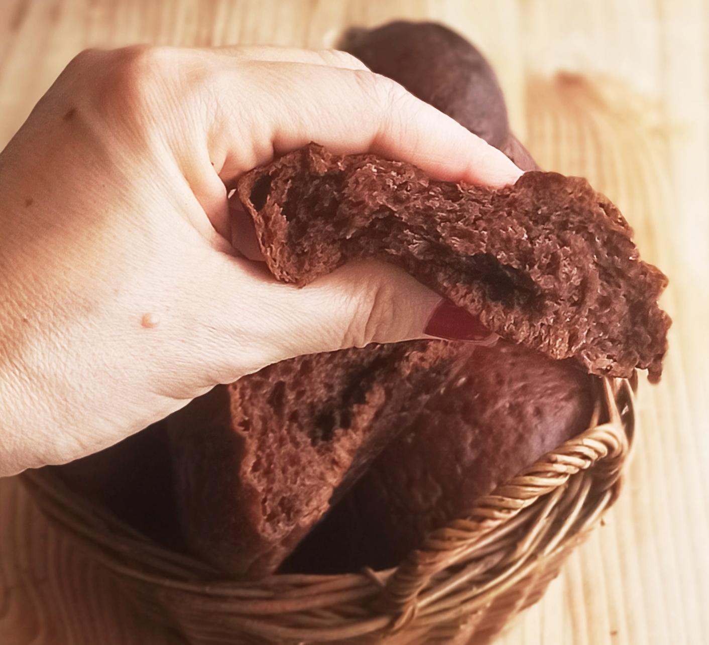 Brioches siciliennes au cacao sans gluten - La Cassata Celiaca