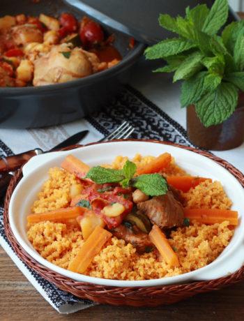 Couscous tunisien sans gluten- La Cassata Celiaca