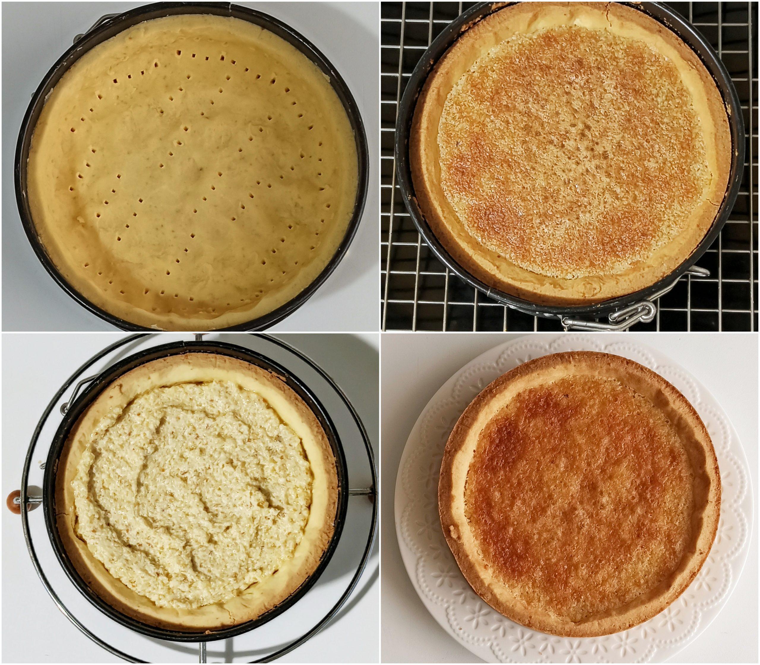 Crostata frangipane e lamponi senza glutine - La Cassata Celiaca