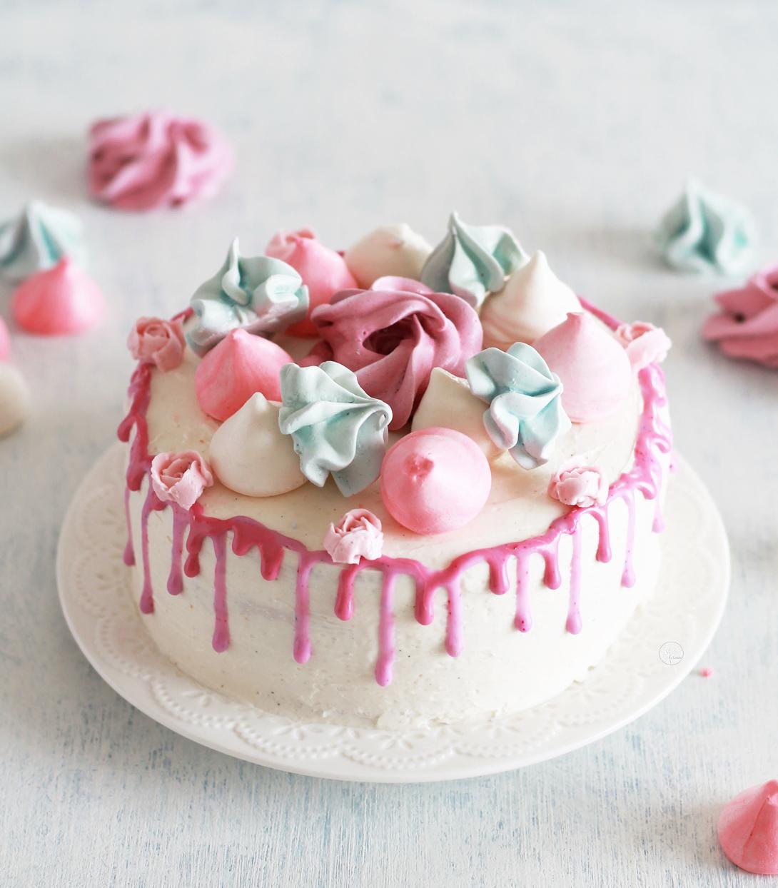 Sponge cake senza glutine con crema al burro meringata - La Cassata Celiaca