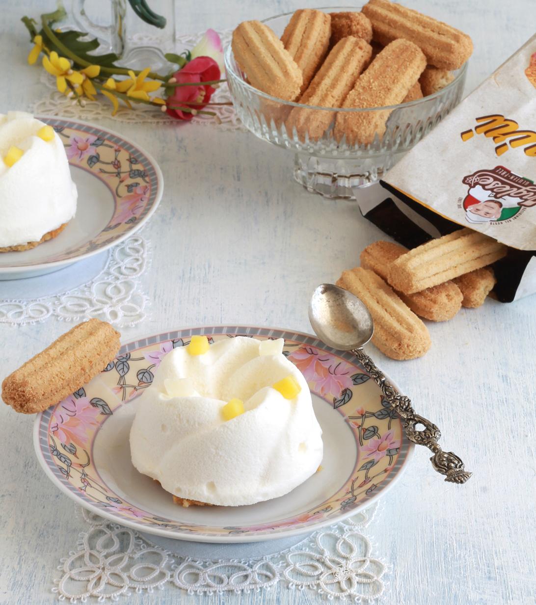 Mousse al cocco e mango senza glutine - La Cassata Celiaca
