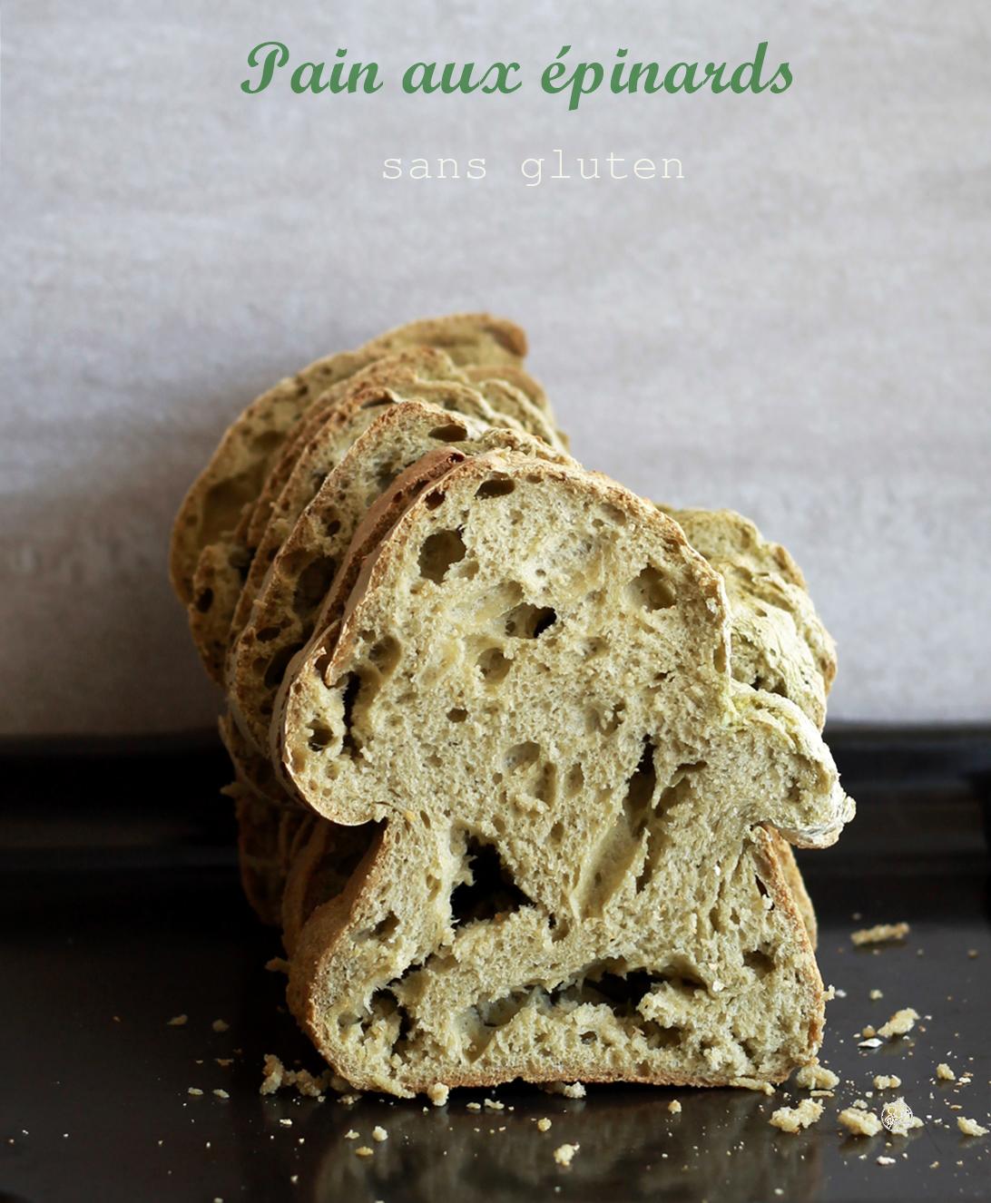 Pain aux épinards sans gluten - La Cassata Celiaca