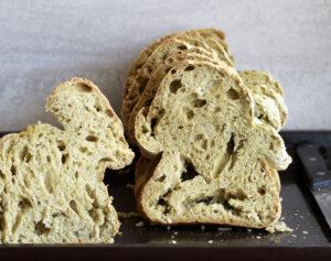 Pane agli spinaci senza glutine - La Cassata Celiaca