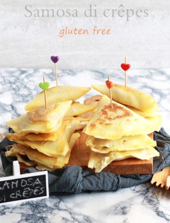 Samosa de crêpes sans gluten - La Cassata Celiaca