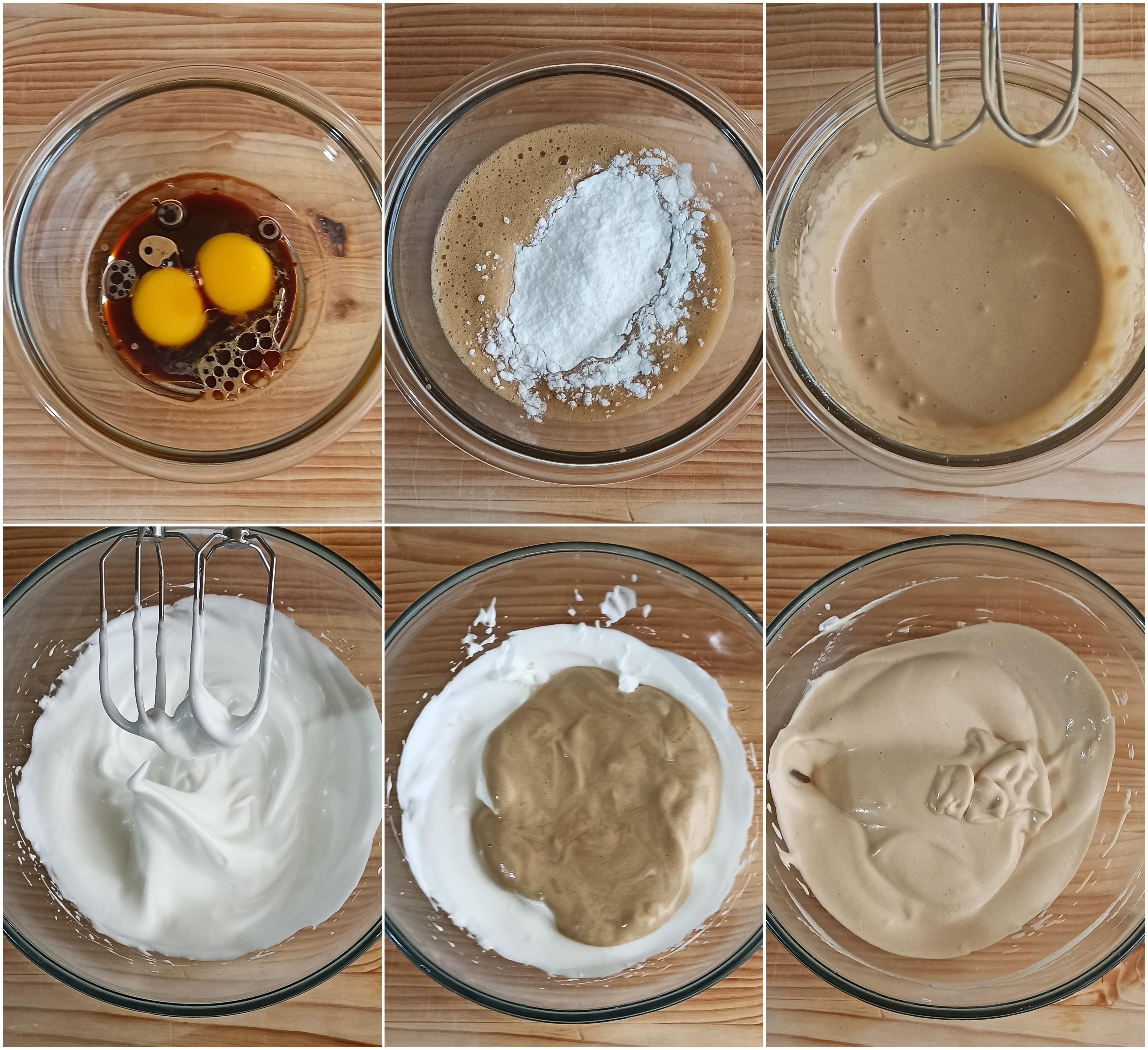 Chiffon cake al caffè e caramello senza glutine - La Cassata Celiaca
