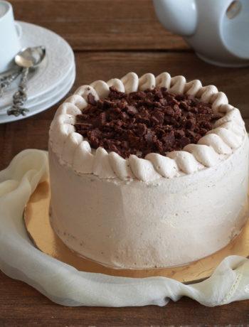 Chiffon cake au café et caramel sans gluten - La Cassata Celiaca