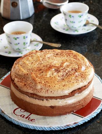 Dalgona cake senza glutine - La Cassata Celiaca