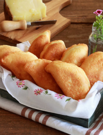 Panzerotti aux pommes de terre et fromages sans gluten - La Cassata Celiaca
