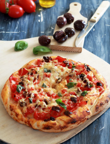Pizza escargot sans gluten - La Cassata Celiaca
