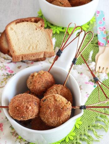 Boulettes de courgette et pommes de terre sans gluten - La Cassata Celiaca