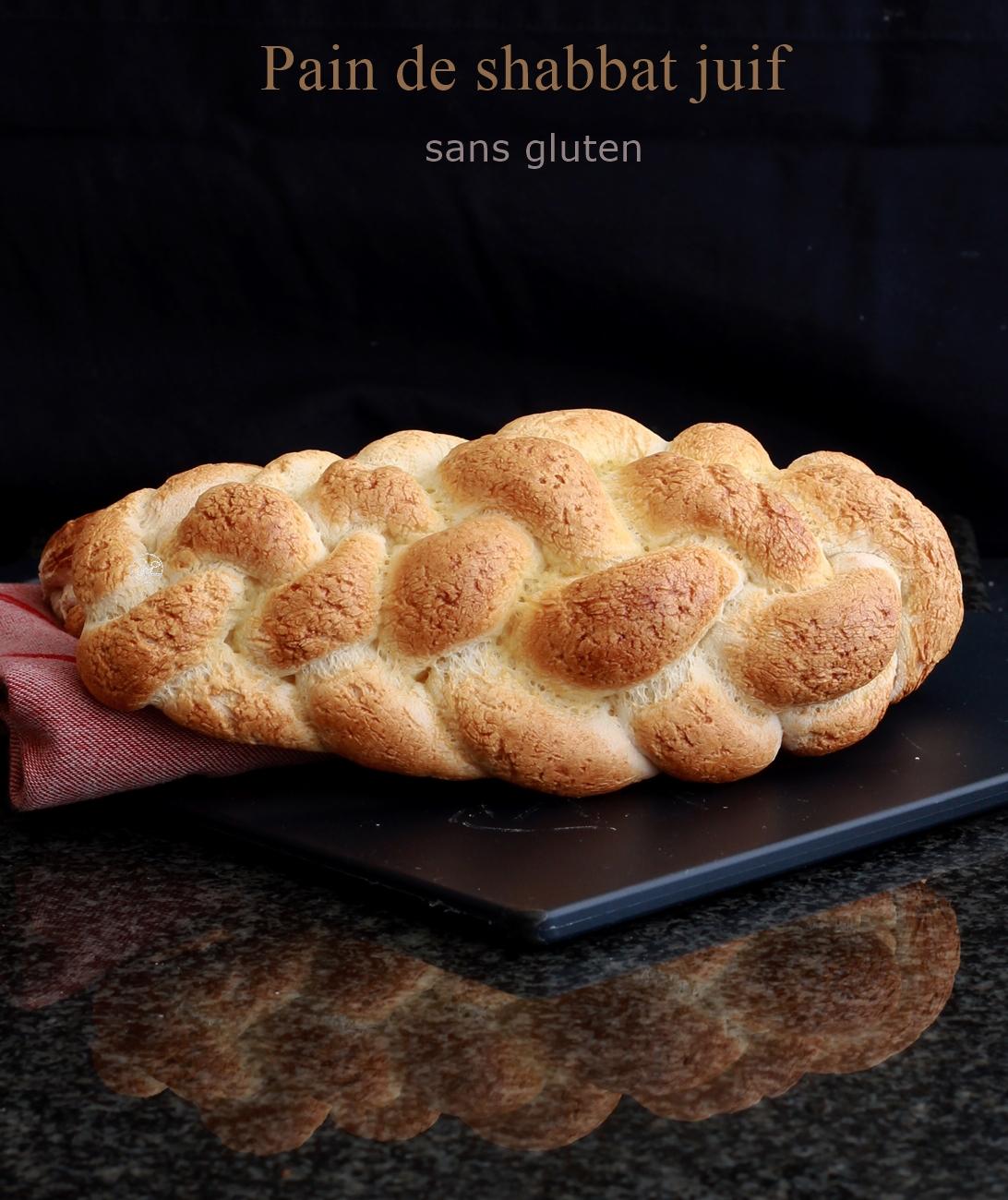 Pain du shabbat juif sans gluten - La Cassata Celiaca