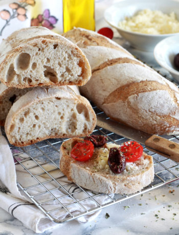 Pain bâtard sans gluten au levain - La Cassata Celiaca