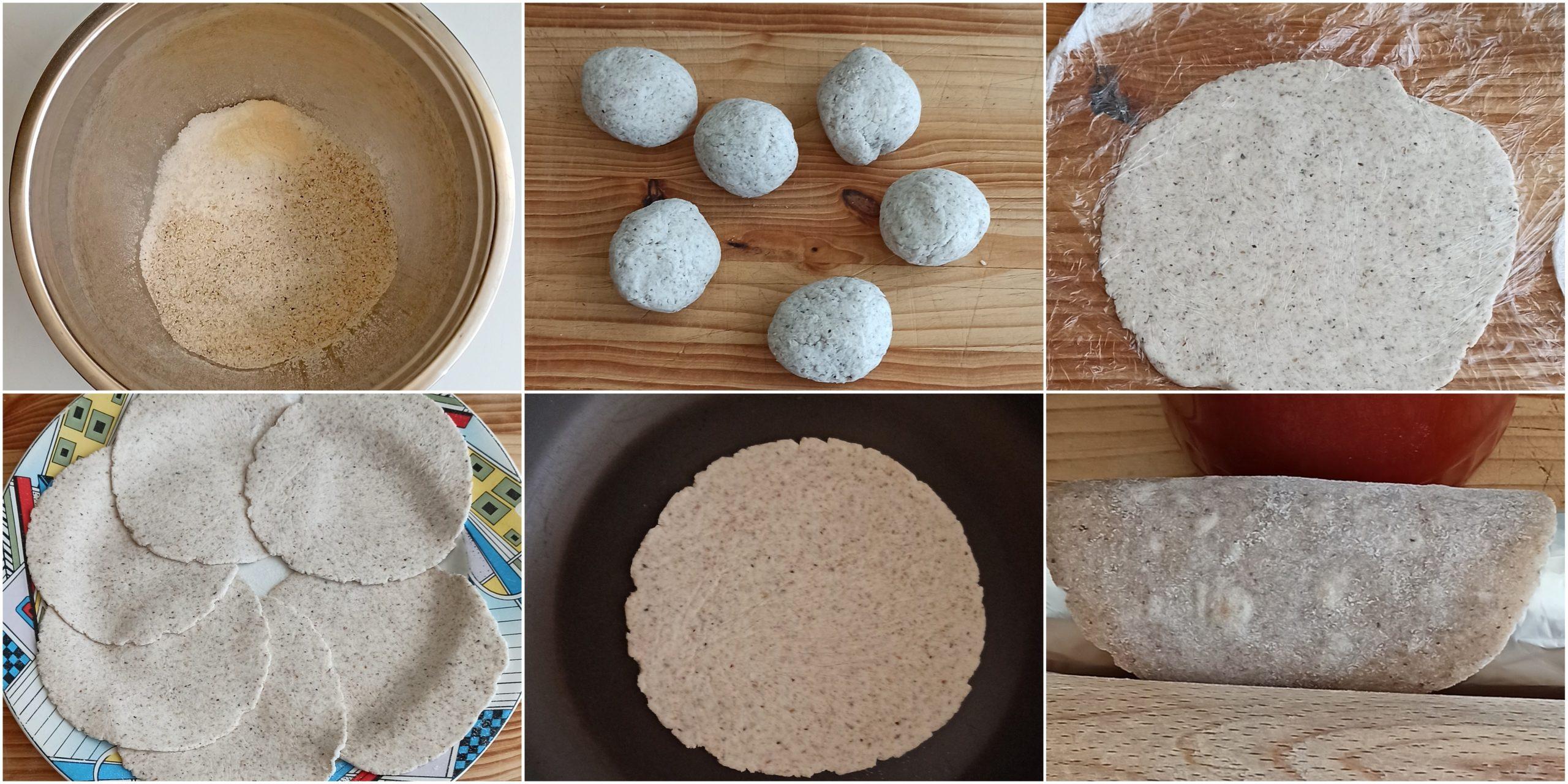 Finti tacos senza glutine al grano saraceno - La Cassata Celiaca