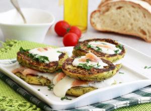 Frittatine di zucchina senza uova - La Cassata Celiaca
