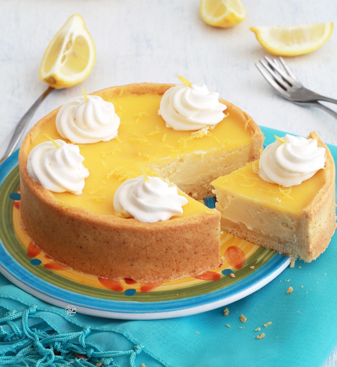 Cheesecake al limone senza glutine - La Cassata Celiaca
