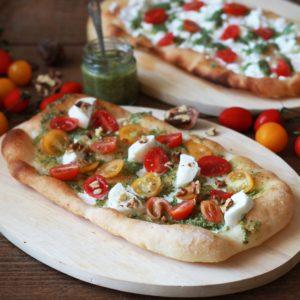 Pinsa estiva senza glutine - La Cassata Celiaca