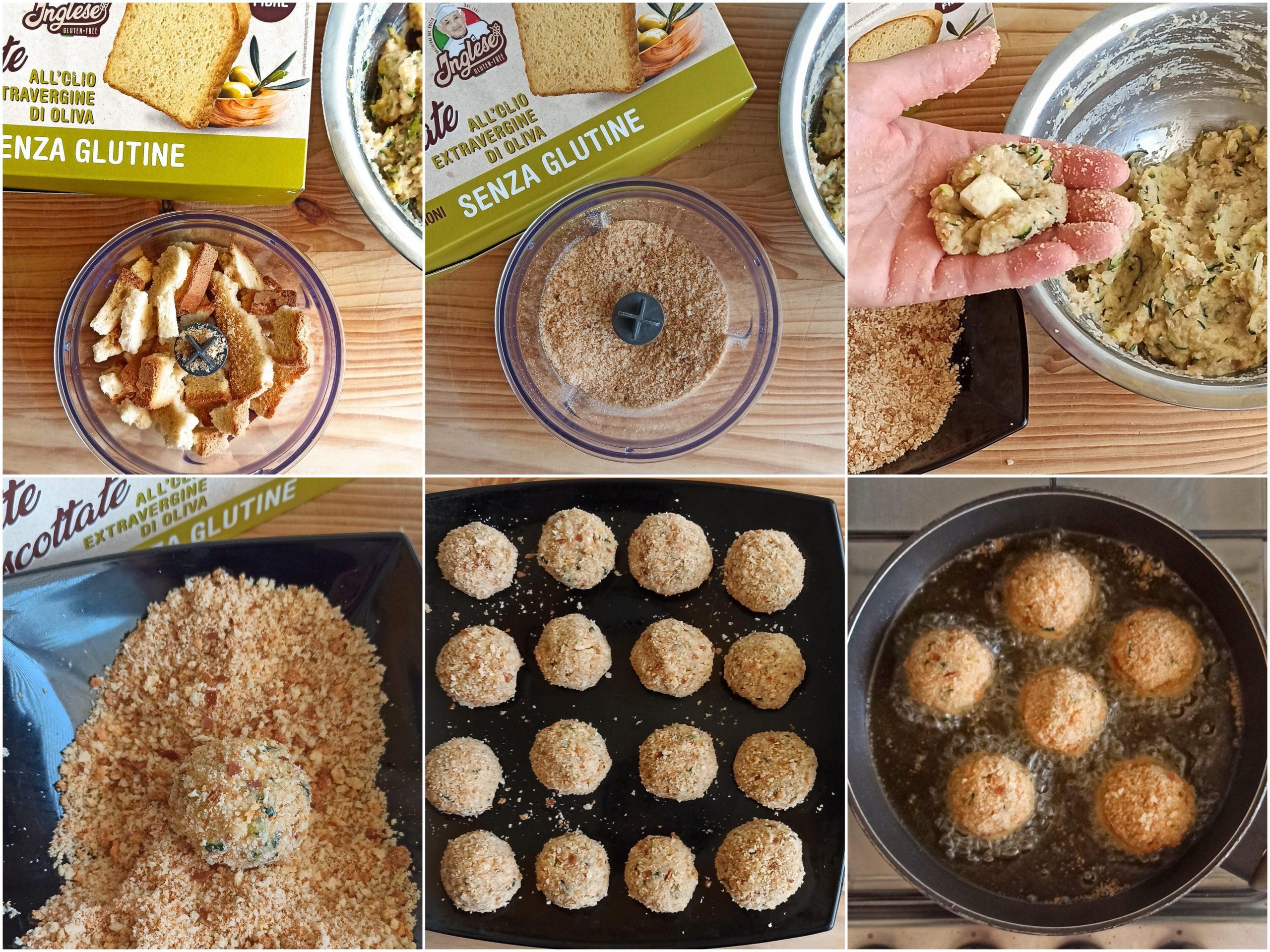 Polpettine di zucchine e patate senza glutine - La Cassata Celiaca
