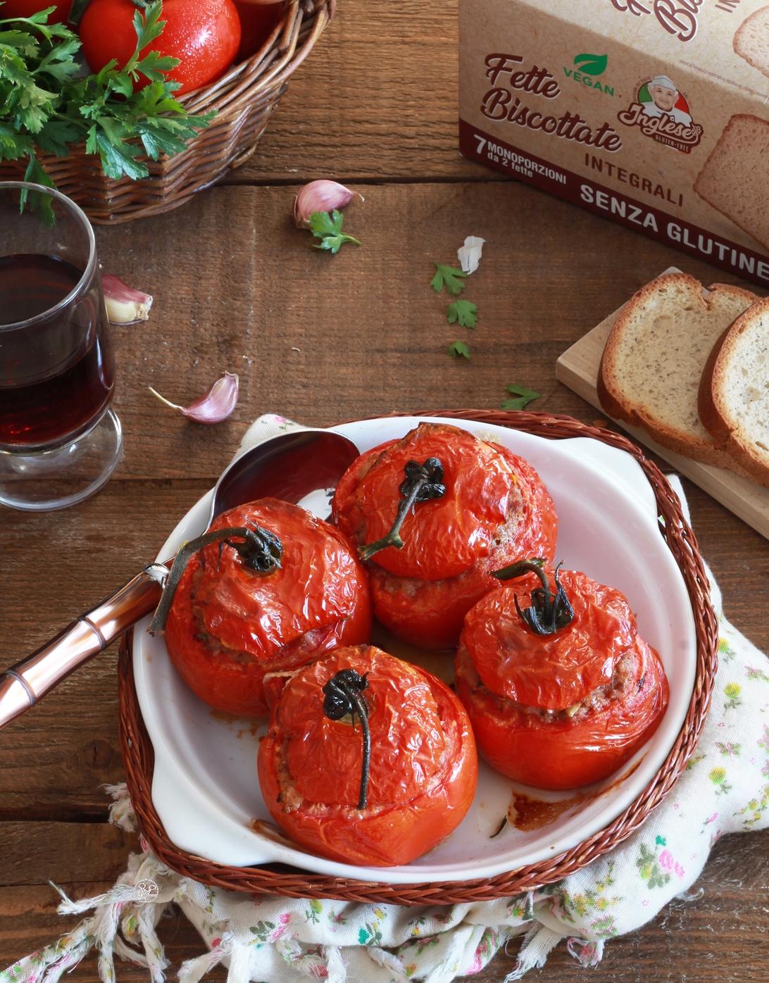 Pomodori ripieni alla provenzale senza glutine - La Cassata Celiaca