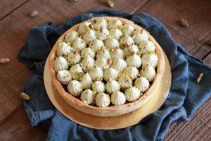 Crostata ciocco pistacchio gluten free - La Cassata Celiaca