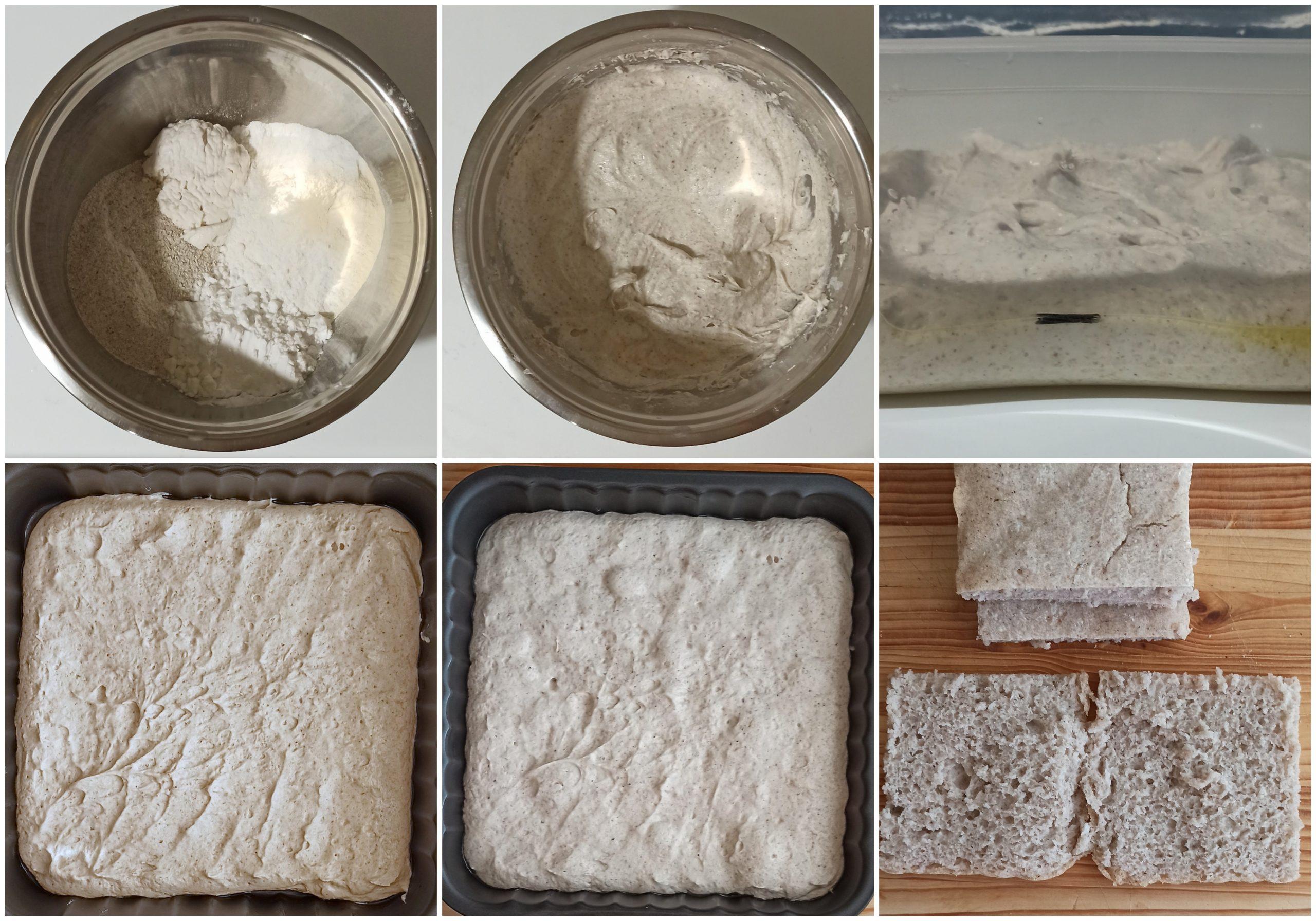 Focaccia senza glutine, senza mais e senza mix - La Cassata Celiaca
