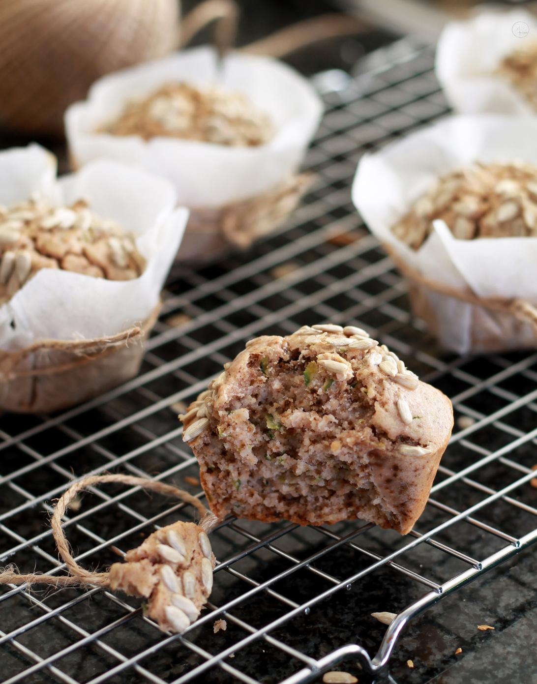 Muffins di zucchine senza glutine - La Cassata Celiaca