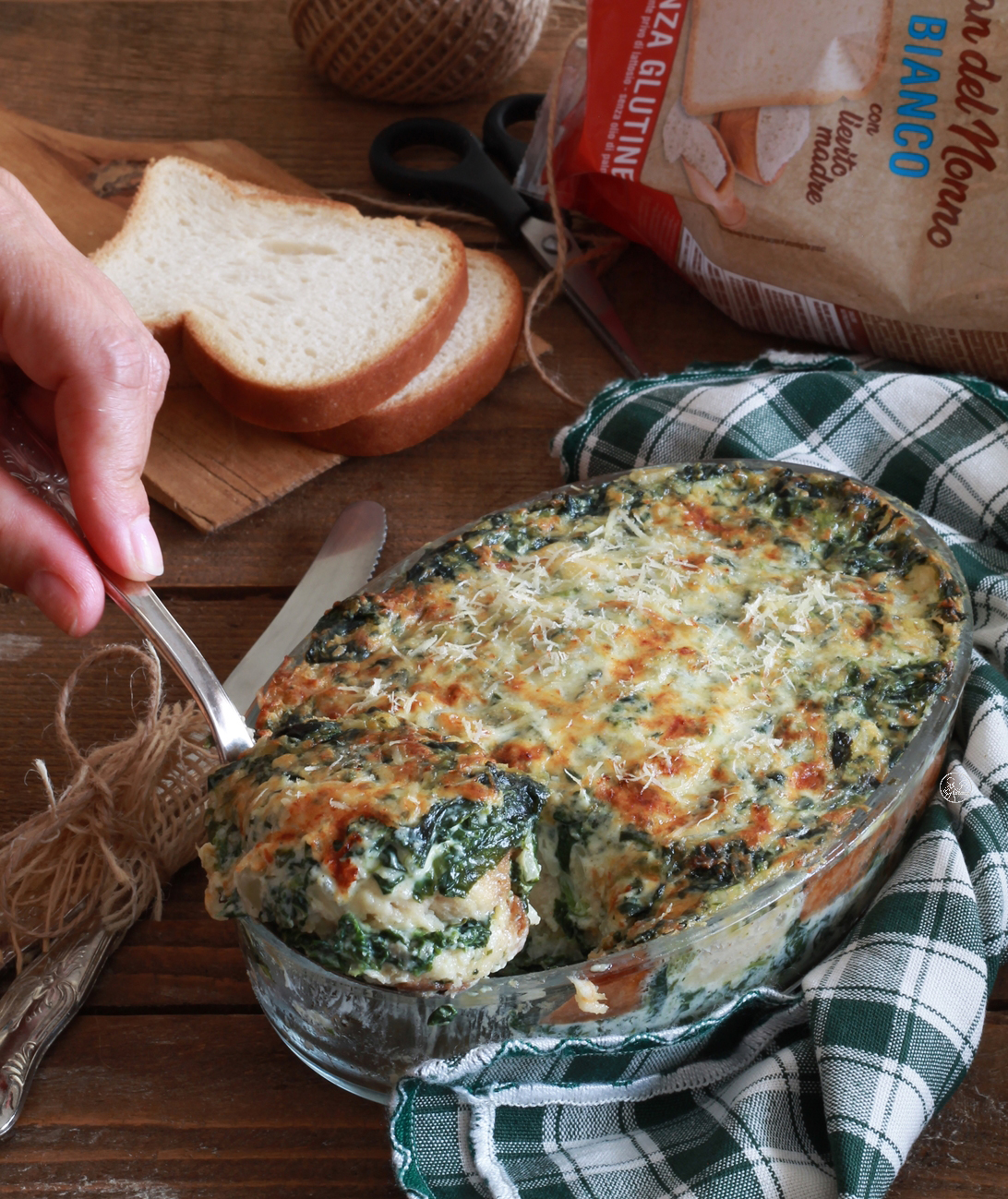 Tiramisù agli spinaci senza glutine - La Cassata Celiaca