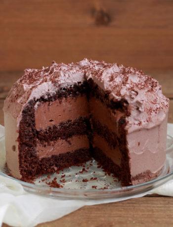Triomphe au chocolat sans gluten - La Cassata Celiaca