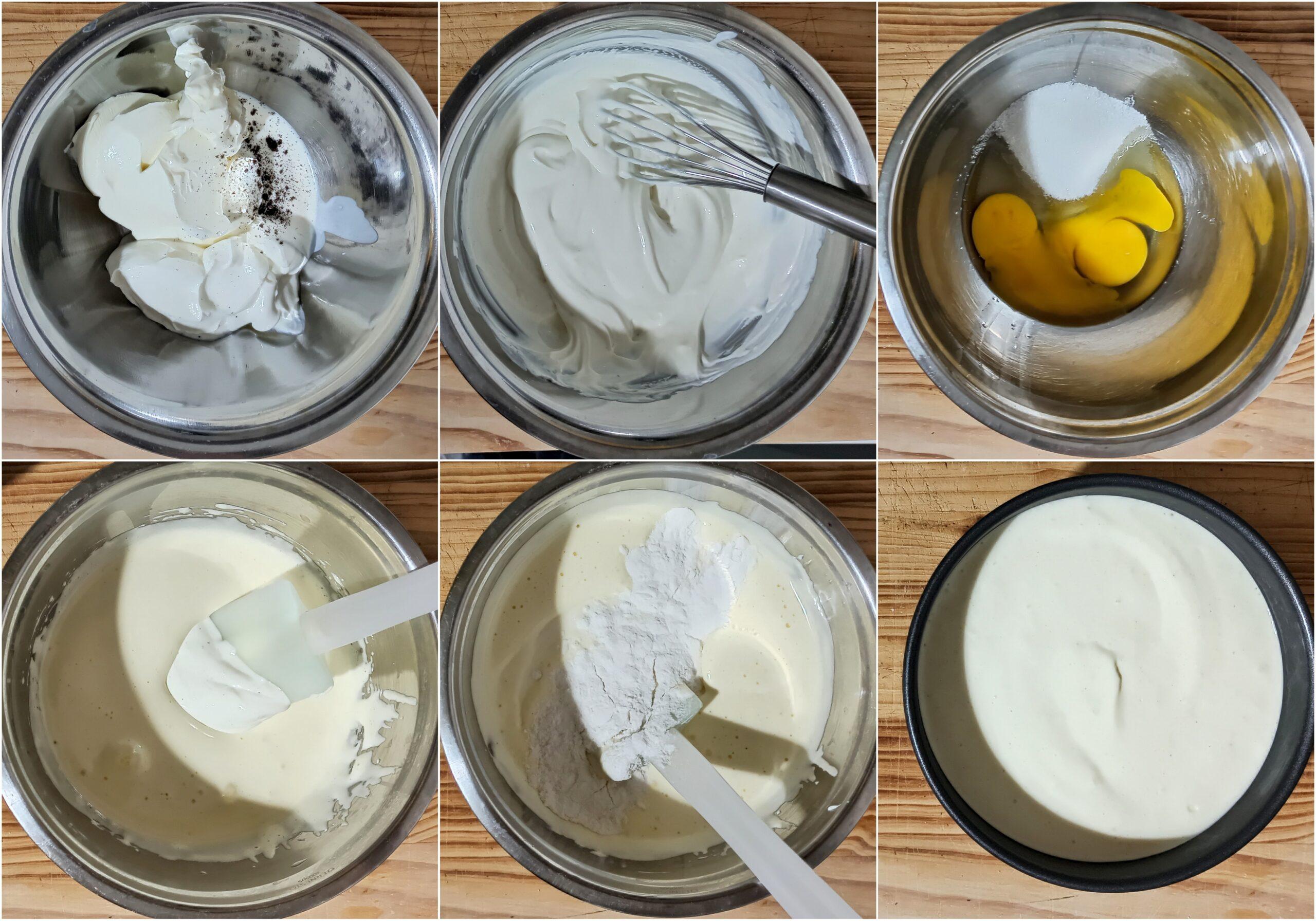 Cheesecake con noci e caramello senza glutine - La Cassata Celiaca