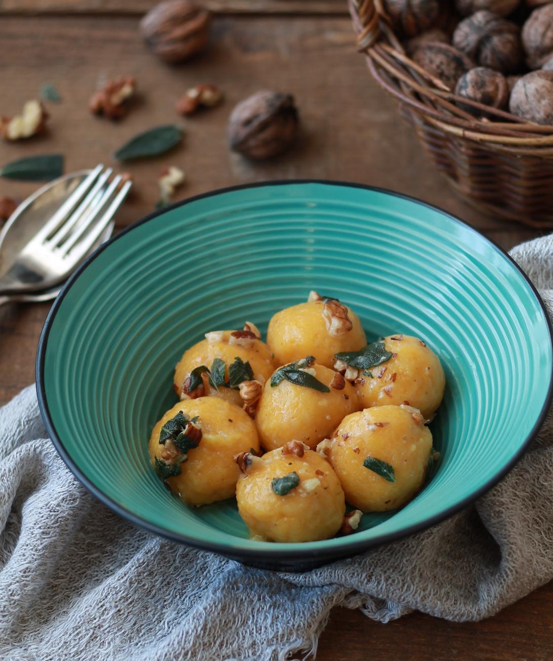 Canederli de potiron sans gluten - La Cassata Celiaca