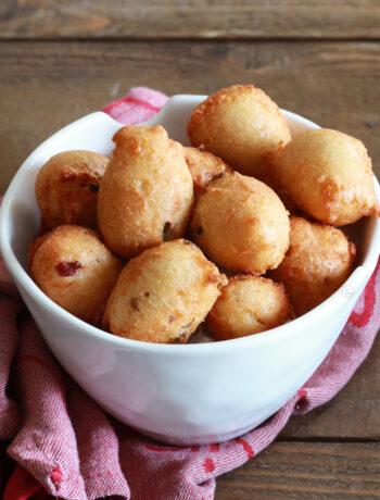 Beignets au fromage sans gluten - La Cassata Celiaca