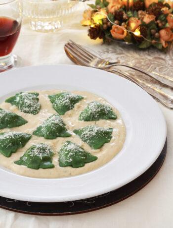 Sapins de pâtes aux œufs sans gluten - La Cassata Celiaca