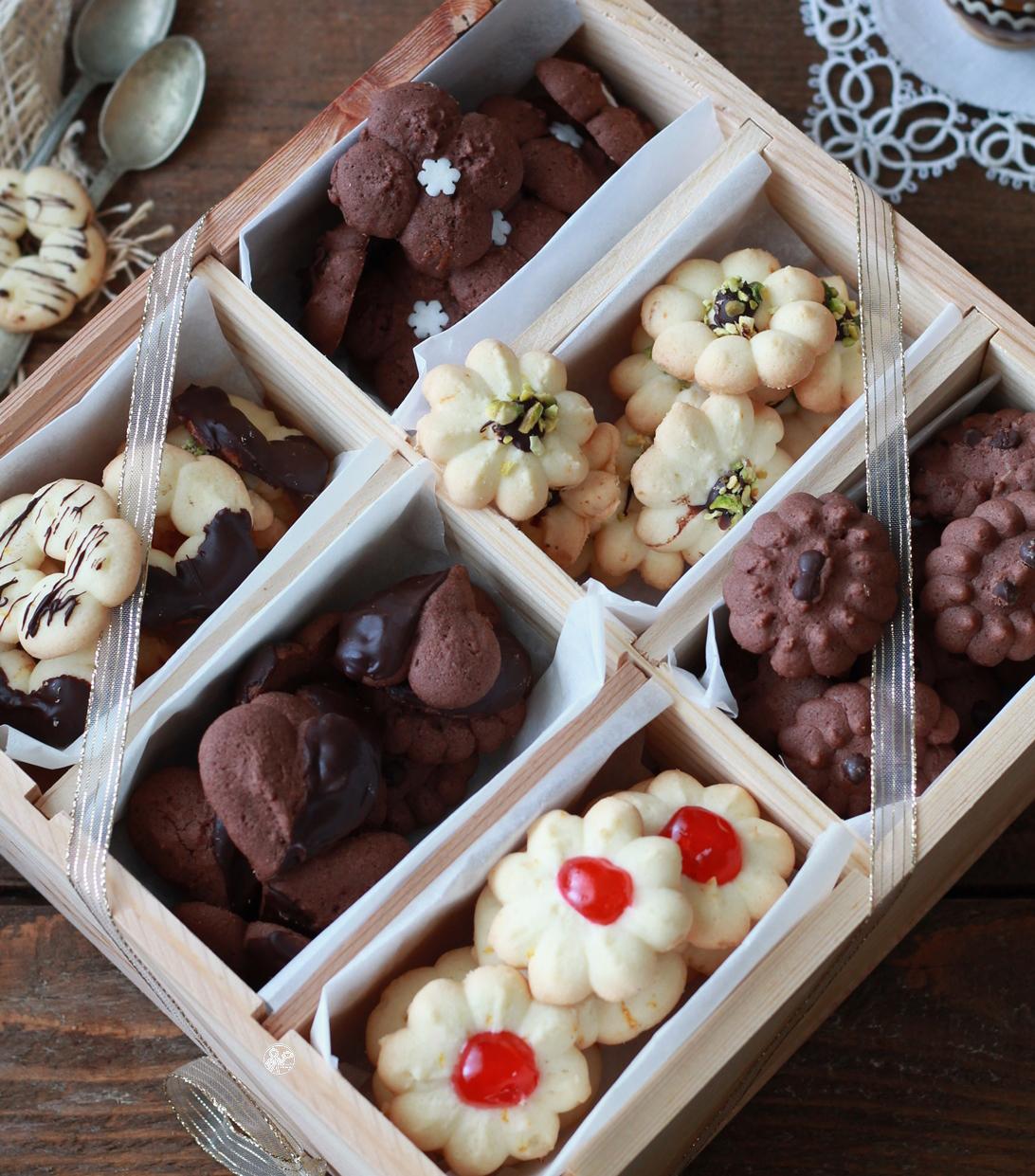 Biscotti senza glutine con la sparabiscotti - La Cassata Celiaca