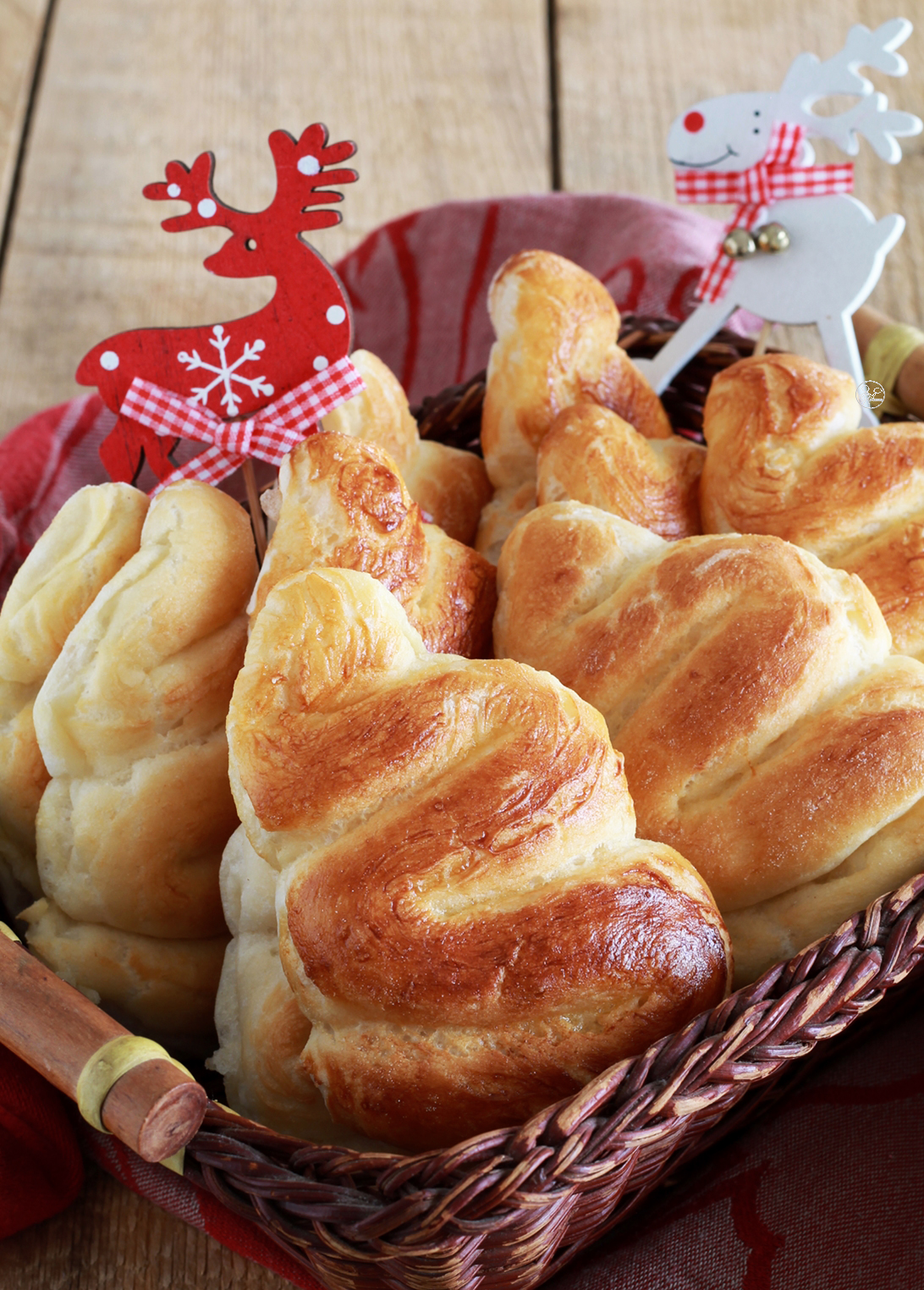 Alberelli di Natale al latte senza glutine - La Cassata Celiaca
